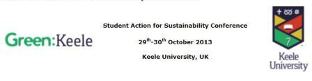 SML-Keele-Student-conf