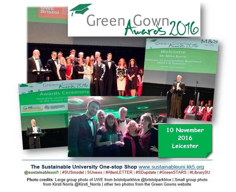 Green Gown Awards | News | Sustainable University